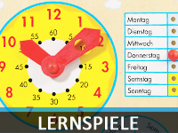 Kindergarten-Lernspiele