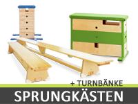 Sprungkästen & Turnbänke