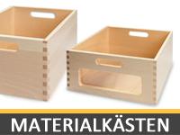 Eigentums- und Materialkästen