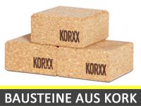 Bausteine aus Kork