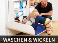 Wasch- & Wickelraum