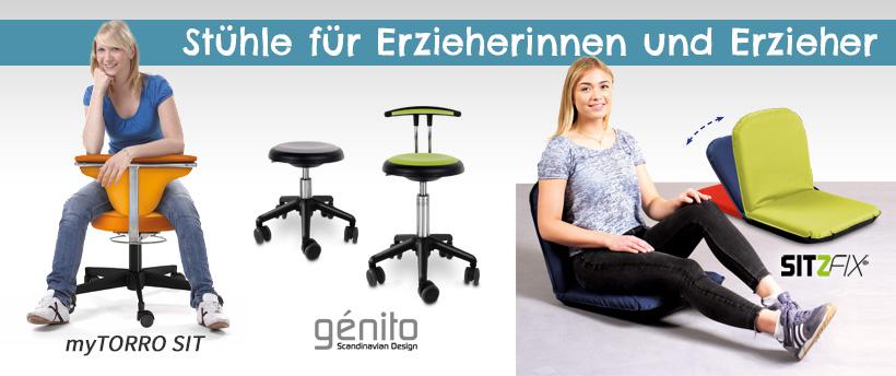 Stühle für Erzieherinnen und Erzieher bestellen