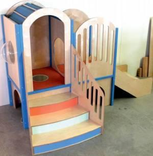 spielburg kinderzimmer, mini-spielburg daniel mit rutsche, Design ideen