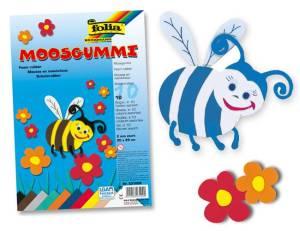 Moosgummi DIN A4 - 10 Bogen in verschiedenen Farben