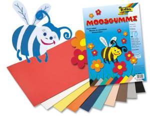 Moosgummi DIN A4 - 10 Bogen pro Farbe