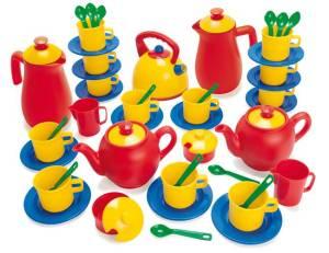 Kinderküche Kaffee- und Teeservice 53-teilig