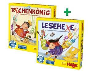Lesehexe & Rechenkönig Lernspiel Paket