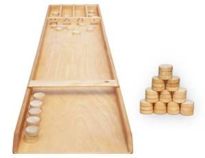 Shuffleboard aus Holz | 193 x 40 cm