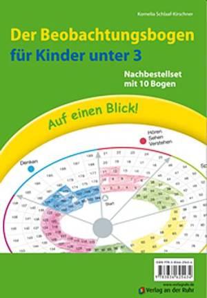Auf einen Blick! Der Beobachtungsbogen für Kinder unter 3