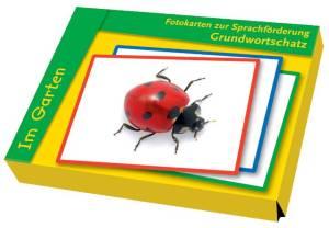 Grundwortschatz Fotokarten zur Sprachförderung - Im Garten