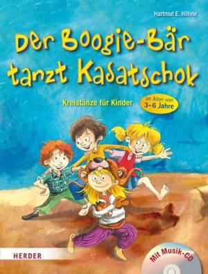 Der Boogie-Bär tanzt Kasatschok mit Audio-CD