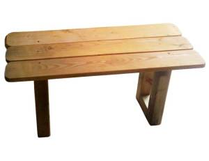 Spielschiff Zubehör - Tisch aus Kiefernholz