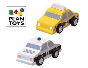 PlanToys Taxi & Polizei