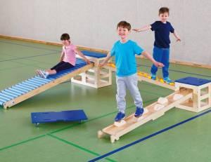 Sportbox Balancierparcours, 6-teilig