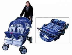 Kindertransportwagen - Rabo 4-Sitzer