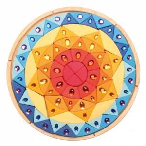 Grimm`s | Farbige Bausteine - Diamantmandala Sonne