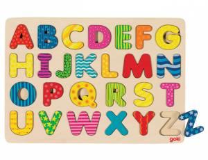 Steckpuzzle Alphabet