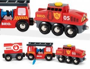 BRIO Feuerwehr - Löschzug