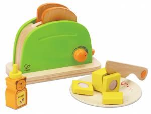 Kinderküche - Hape Pop-Up-Toaster 10-teilig