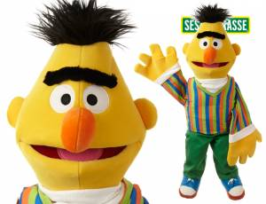Sesamstrasse Bert Handpuppe