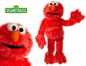 Sesamstrasse Elmo Handpuppe