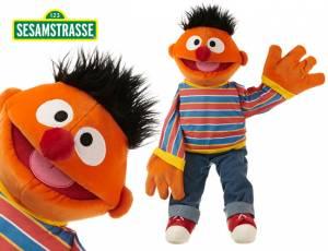 Sesamstrasse Ernie Handpuppe