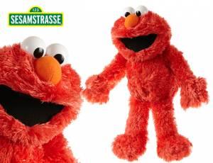 Sesamstrasse Elmo Plüschfigur