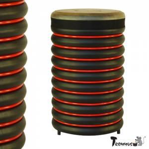 Trommus Standtrommel Rot | Höhe 55 cm