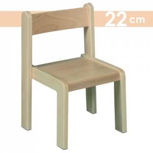 Simeon Stapelstuhl | Sitzhöhe 22 cm