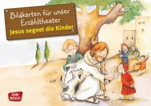 Kamishibai - Jesus segnet die Kinder