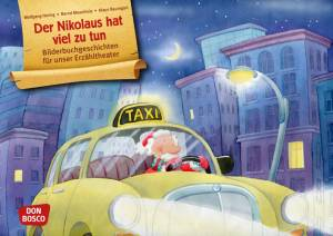 Kamishibai - Der Nikolaus hat viel zu tun