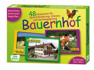 Fotokarten zur Sprachförderung - Bauernhof