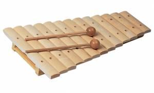 Xylophon mit 13 Klangplatten aus Ahorn (Einzelstück)