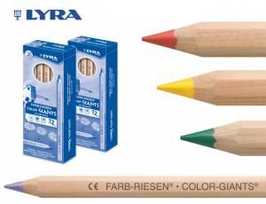 Lyra Farbriesen Natur 12er Box
