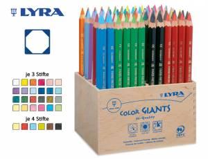 Lyra Farbriesen® Holzaufsteller | 96er Display