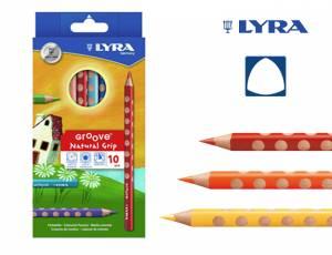 Lyra Groove Natural Grip 10er Set