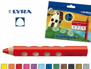Lyra Groove Triple 1 | 12 Stifte