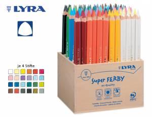 Lyra Super Ferby Holzaufsteller   96er Display