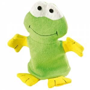 Waschhandschuh Frosch
