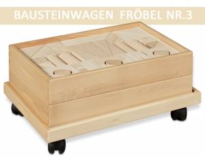 Bausteinwagen Fröbel Nr. 3