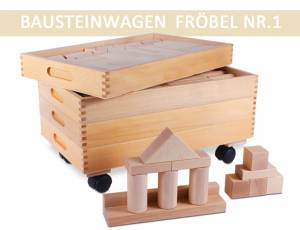 Bausteinwagen Fröbel Nr. 1