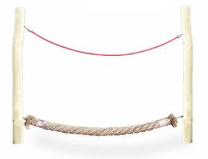Seil- und Klettergarten - Segment Lauftampe