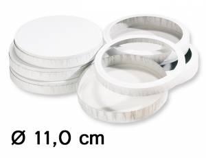Käseschachteln Ø 11,0 cm (für 10 Laternen)