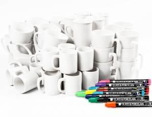 Tassen aus Porzellan 48er Set
