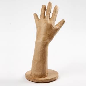 Pappmaché Hand