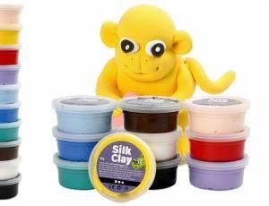 Modelliermasse Silk Clay® | 10er Set mit 400 g