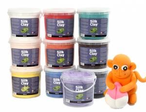 Modelliermasse Silk Clay | 10er Set  mit 6,5 kg