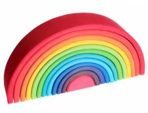 Bausteine Regenbogen 38 cm, 12-teilig