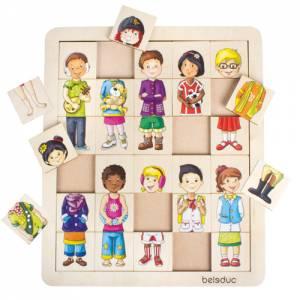 Puzzle Match & Mix Kids | Sortierpuzzle Kinder