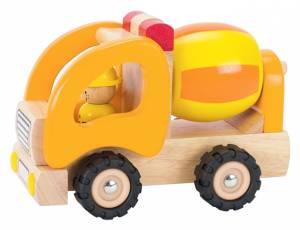 Holzfahrzeug Betonmischer